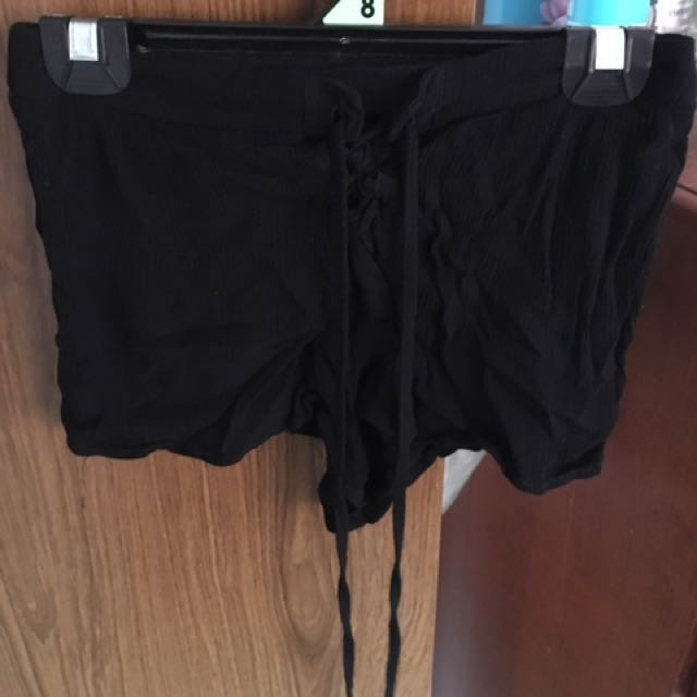 Super Black Shorts