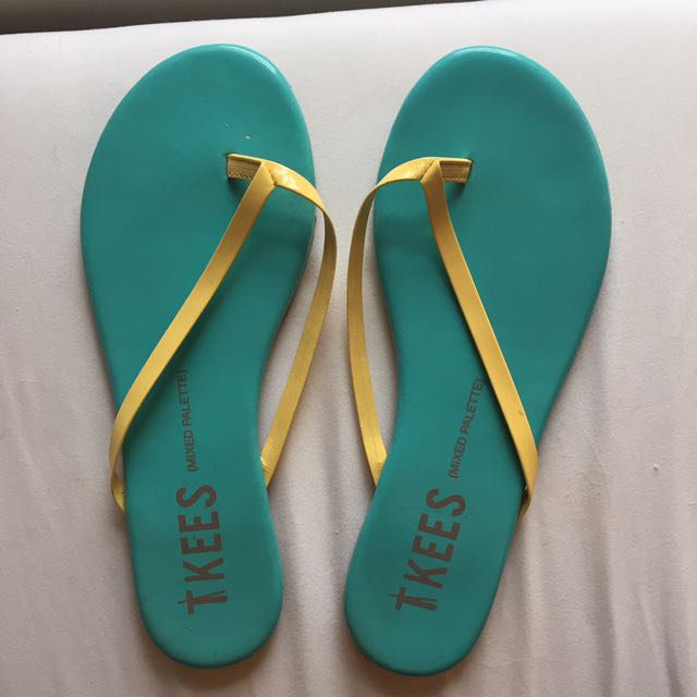Tkees Mixed Palette Flip Flops Size 7