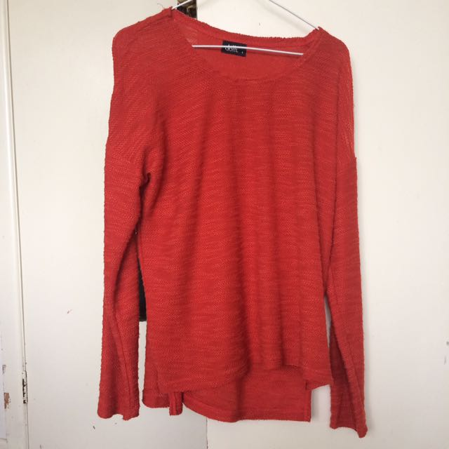 Orange Long Sleeve (Dotti)