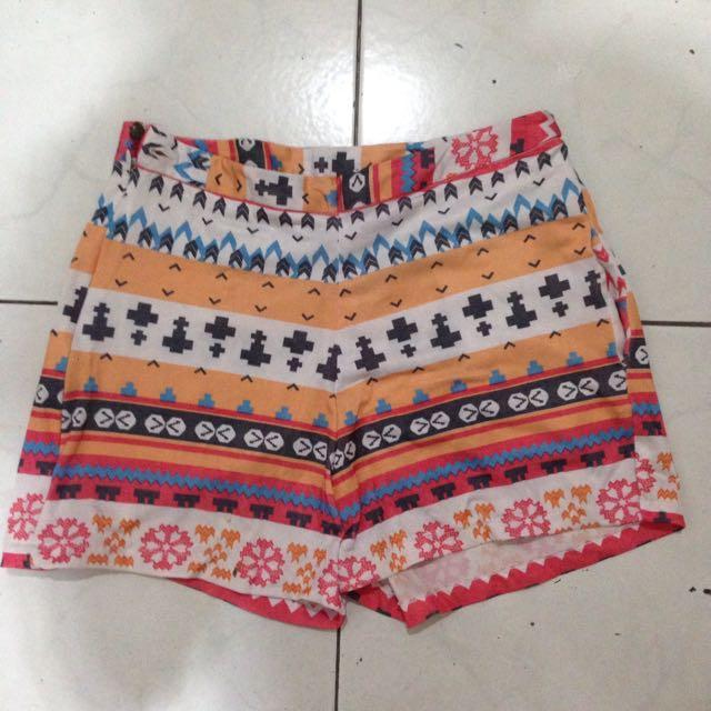Tribal Hot Pants