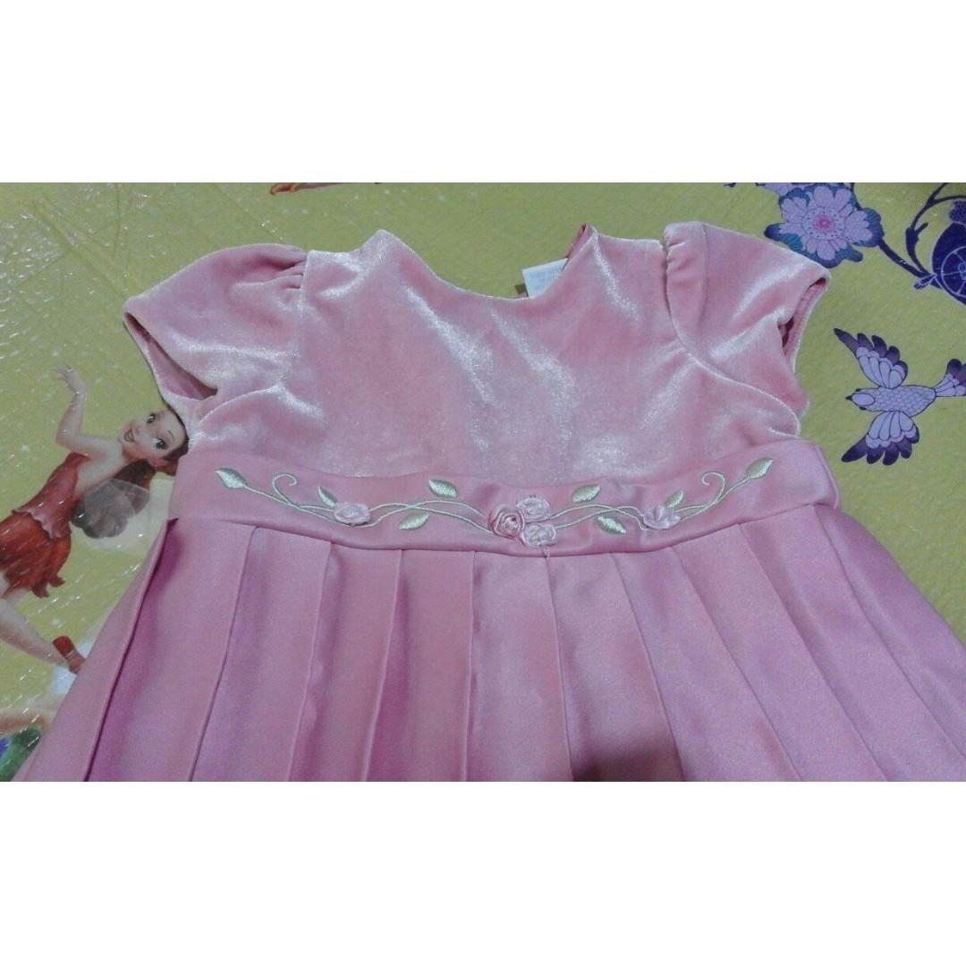 SALE!!! VELVET DRESS FOR 3 MOS. BABY