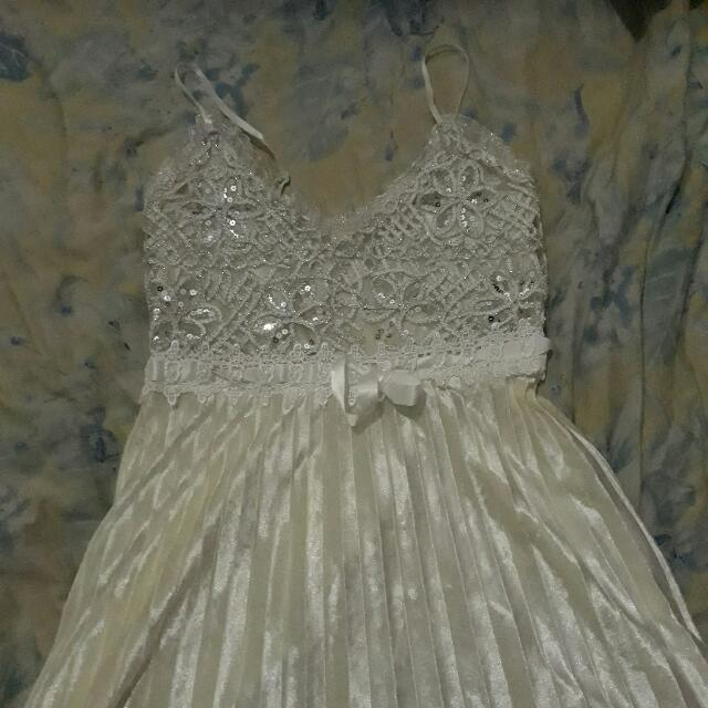 White Gold Dress