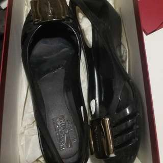 Authentic Salvatore Ferragamo Jelly Shoes