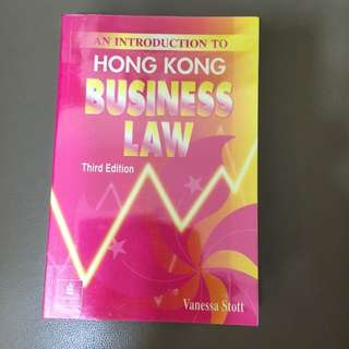 Hong Kong Business Law - Law 法律