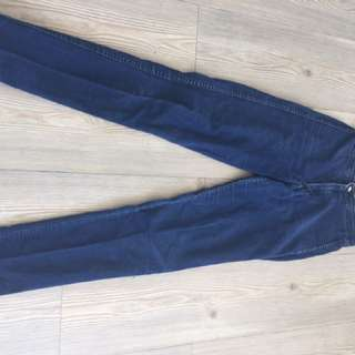 American Apparel Classic High Waisted Jeans