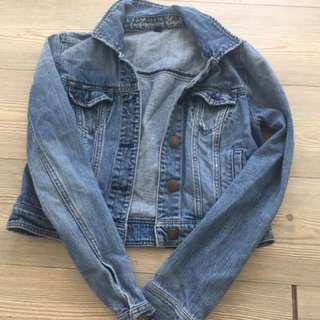 Super Cute Tight Jean Jacket