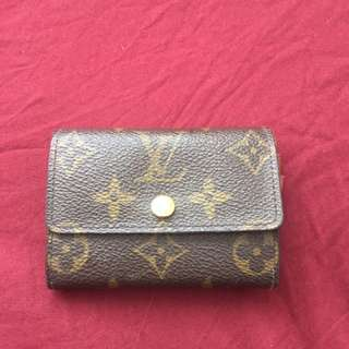 Louis Vuitton Card Holder and Coins
