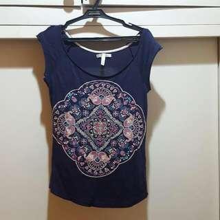 Bershka Mandala Print Shirt
