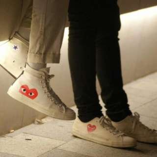 Comme des Garcons CDG X Converse High Tops
