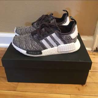 Adidas NMD R1 Women's Glitch Midnight Grey US 7