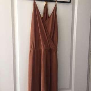 Abercrombie Burnt Orange Dress