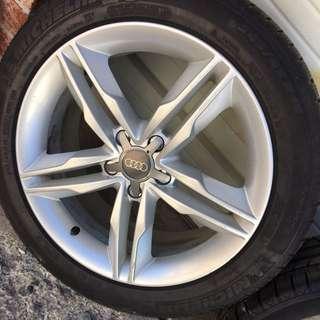 Audi S5 Rims