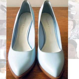 Charles n Keith Transparant Wedges