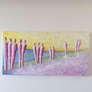 Acryllic Painting On Canvas