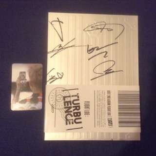 [Kpop] Got7 - Turbulence All Members Signed with photocard