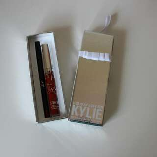 New Authentic Kylie Jenner Cosmetics Holiday Edition Liquid Matte Lipstick Merry
