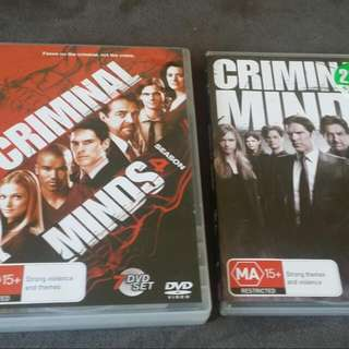 Season 4 & 9 Of Criminal Minds Never Watched