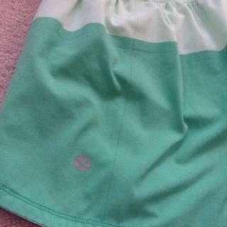 Green LuluLemon Shorts