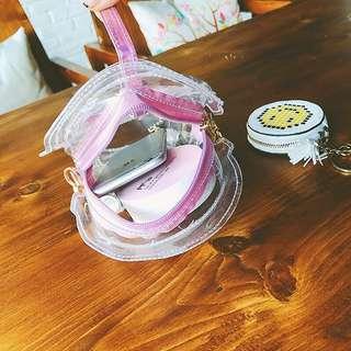 🇰🇷韓國代購 造型吸管包包 小包 單肩 斜背 斜背包 雷射包 造型包 手拿包 零錢包 小包