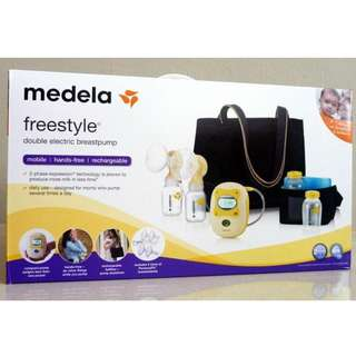 Medela Freestyle Double Electric Breastpump Complete Set
