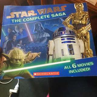 Star Wars The Complete Saga - Scholastic
