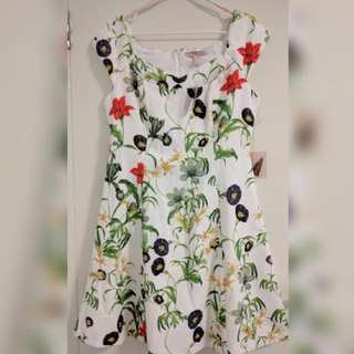 New: Floral Short Dress By Forever21