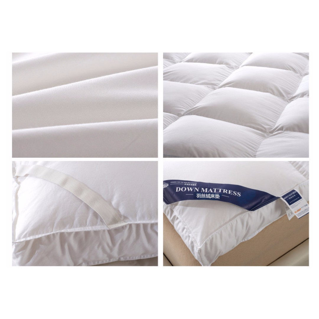 thick mattress pad. (Grey Or White) 10cm Tatami /Mattress Topper Cover /Thick Protector /Anti-bacterial Anti-mite, Home \u0026 Furniture, Others On Carousell Thick Mattress Pad