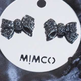 MIMCO- Mini bow stud BNWT