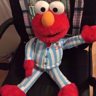 Big Big Soft Elmo Doll Great Condition NO ANY DAMAGE Used