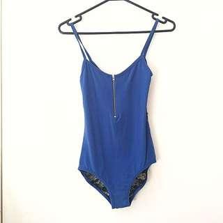 Lace Back Bodysuit XS-S