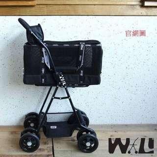 WILL 雙層可拆式推車組合 黑網X黃【價錢含運】