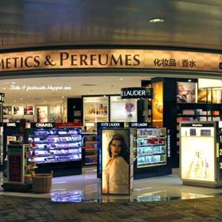 Cosmetics & Perfumes (Changi Duty Free)