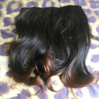 HAIR CLIP SEMI HUMAN HAIR