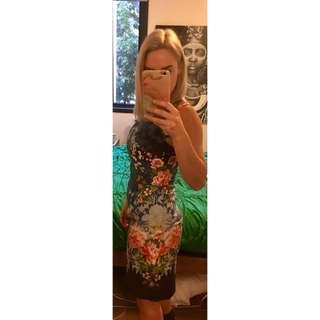 Oasis Brand Oriental Dress 6-8