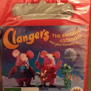 Clangers The Singing Asteroid DVD