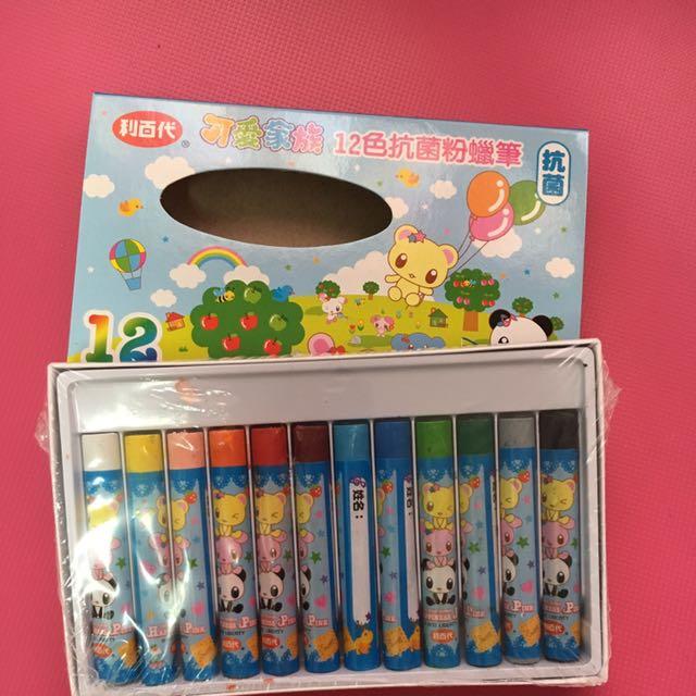 12色蠟筆