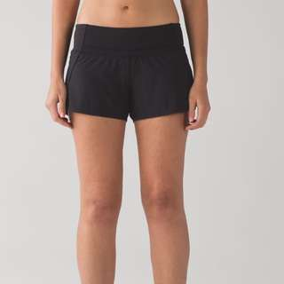 Lululemon - Women's Black Running Shorts