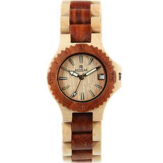 Redear Copenhagen Series Maple And Red Sandalwood Wood Wooden Watch