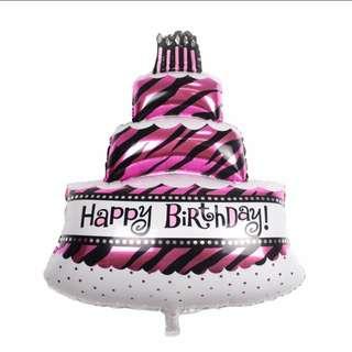 3 TIER CAKE FOIL BALLOON