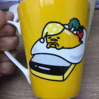 你今日懶左未?蛋黃哥瓷杯