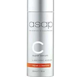 ASAP Super C Serum Powerful Antioxidants Vitamin Skin Treatment New 30ml Authorised Stockists RRP $89