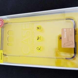 Samsung S8 Baseus Sliver Glitter Clear Slim Case