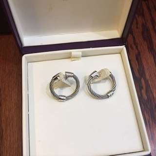 *repriced!Authentic Charriol Earring (slightly Used)