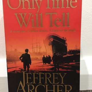 Only Time Will Tell By Jeffrey Archer