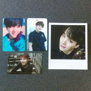 BTS Yoongi SUGA Photocard Set