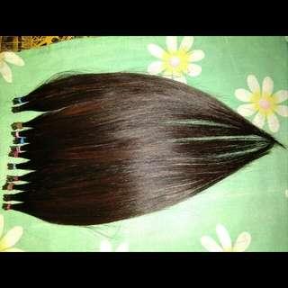 Hair extension rambut sambung asli 100% rambut asli manusia
