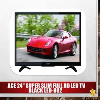 """ACE 24"""" SUPER Slim FULL HD LED TV"""