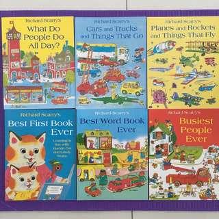 Richard Scarry's books