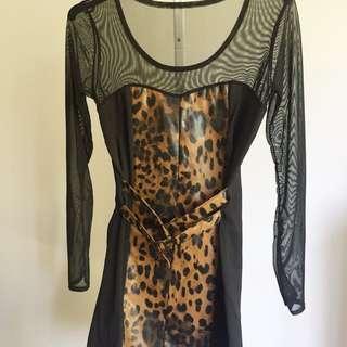 Size S Animal Print Dress