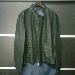 BNWT Polo Ralph Lauren Flight Bomber Leather Jacket